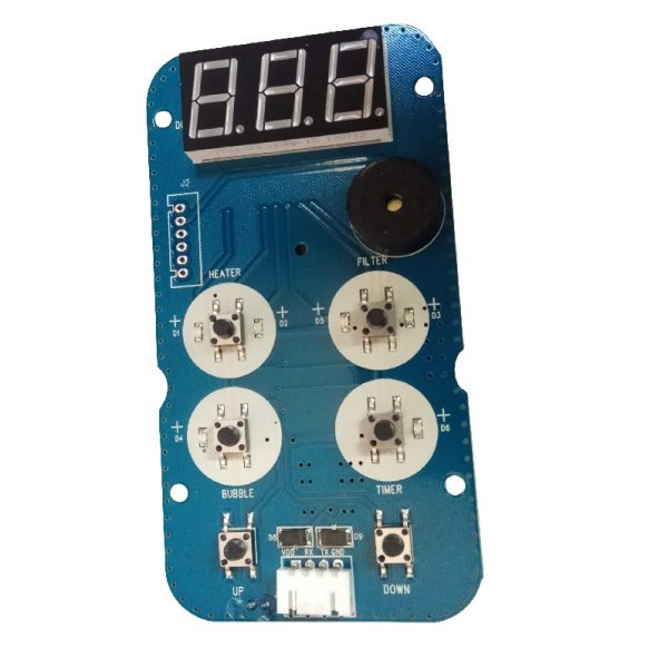 Printplaat MSpa afstandsbediening DeLight Lite b9301191
