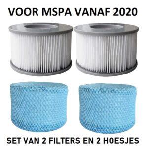 MSpa filter set met hoesje B0303499
