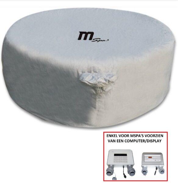 Beschermhoes met inkeping voor paneel MSpa