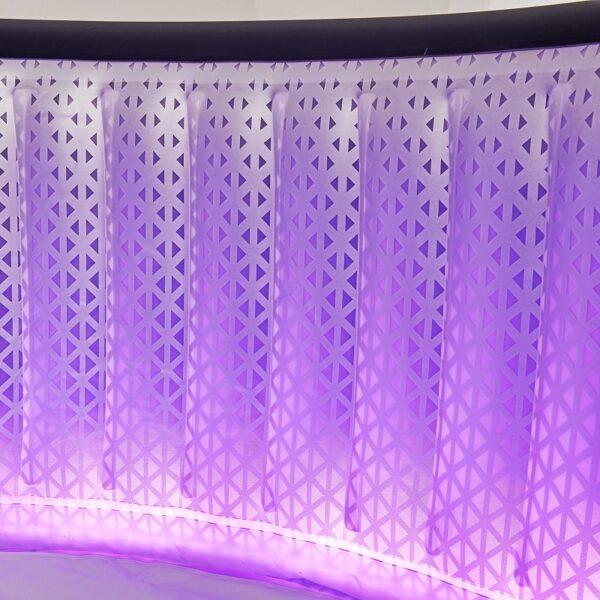 MSpa opblaasbaar bubbelbad Aurora 2021 LED verlichting 6 persoons